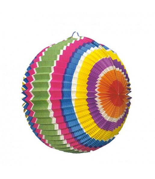 Boule en Papier - Multicolore