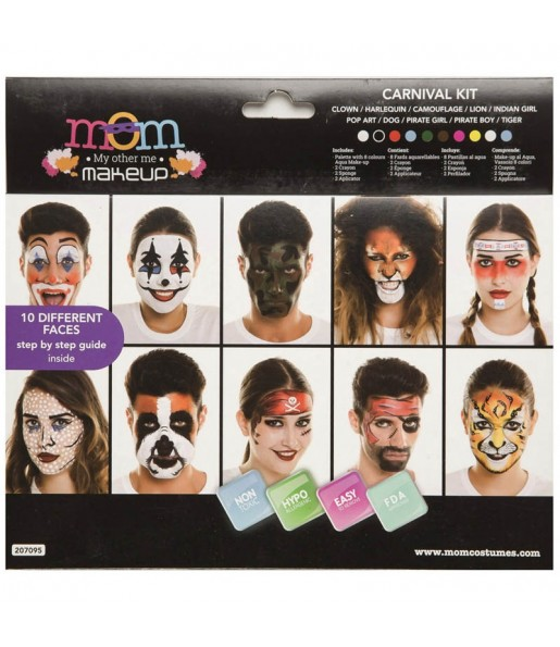 Kit Maquillage Carnaval adulte