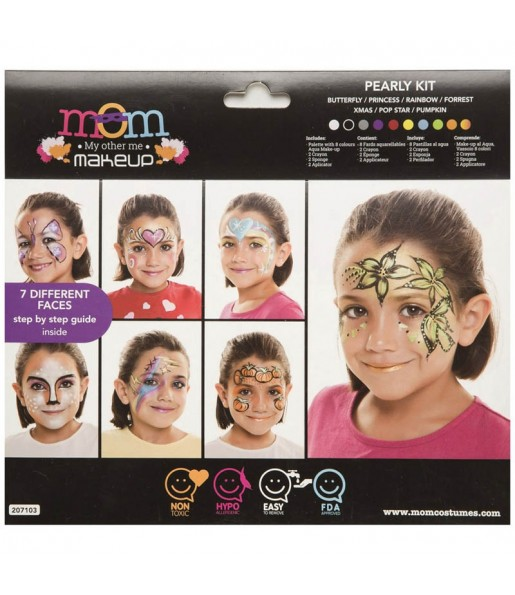 Kit Maquillage Perle pour fille