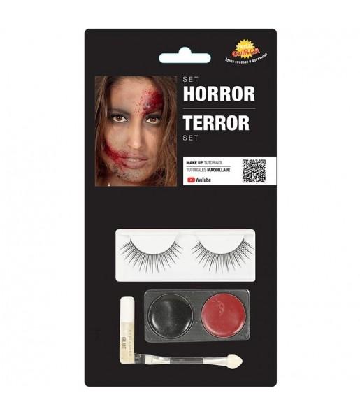Set maquillage terreur Halloween