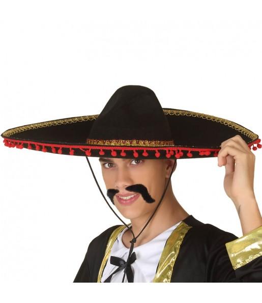 Chapeau Mariachi Noir