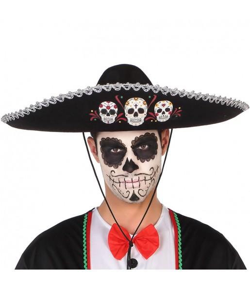 Chapeau Mexicain Jour des Morts