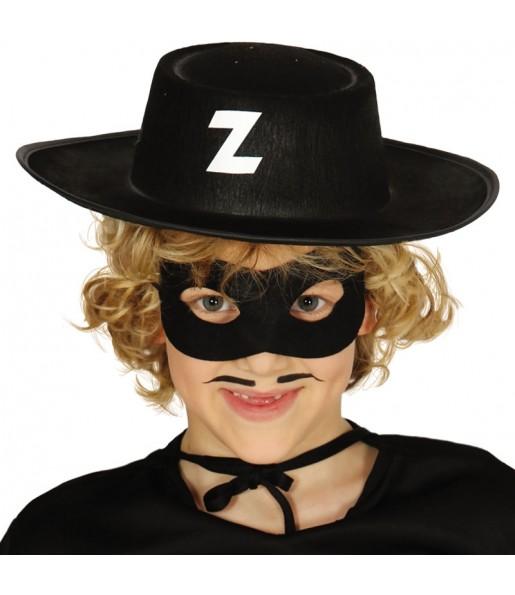 Chapeau Zorro pour enfants