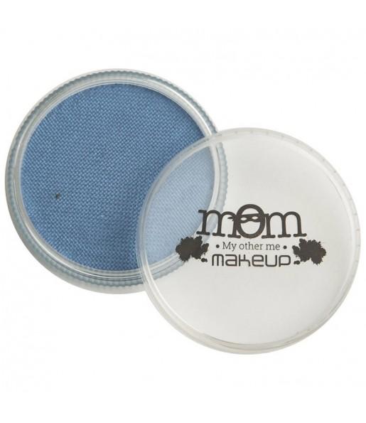 Pot de maquillage à l'eau Bleu perlé