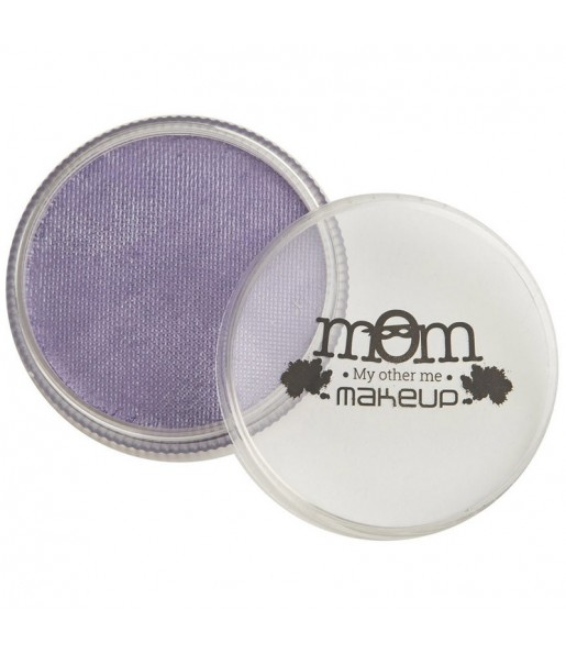 Pot de maquillage à l'eau Violet clair perlé