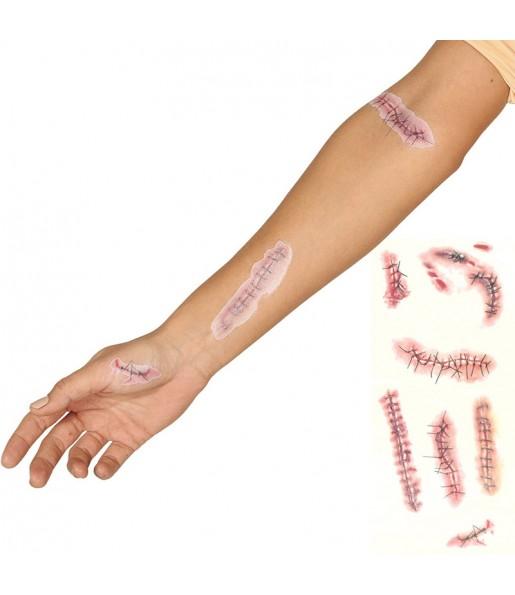 Tatouage Cicatrice Halloween