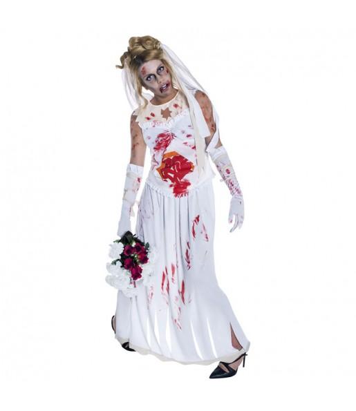 Déguisement Fiancée Zombie adulte