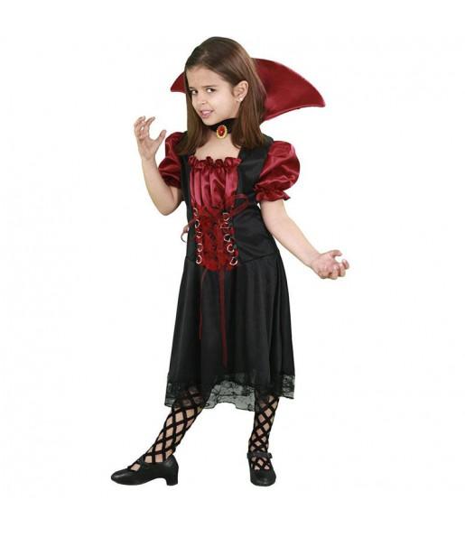 Déguisement Vampiresse Mystérieuse Enfant