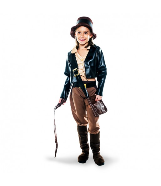 Déguisement Archéologue Indiana Jones Fille