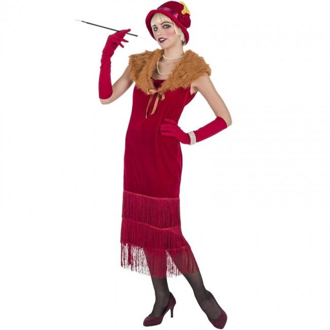 Costume déguisement femme danseuse charleston zombie halloween années 20