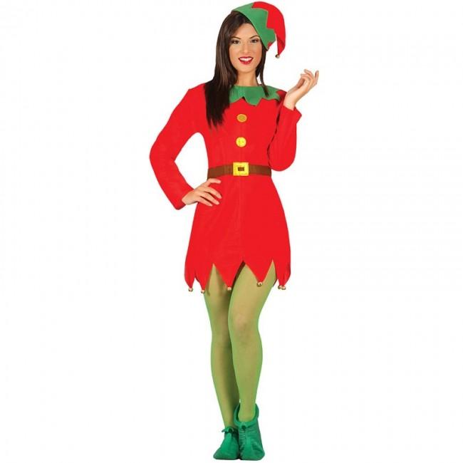 f0af11b52b38f Déguisement Lutin Père Noël femme en ligne
