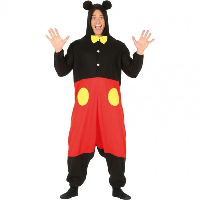 magasin en ligne meilleures baskets Braderie Déguisement Mickey Mouse Kigurumi homme