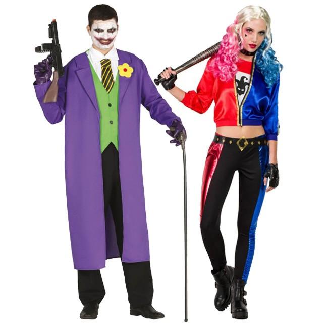 Déguisements Joker et Harley Quinn Suicide Squad