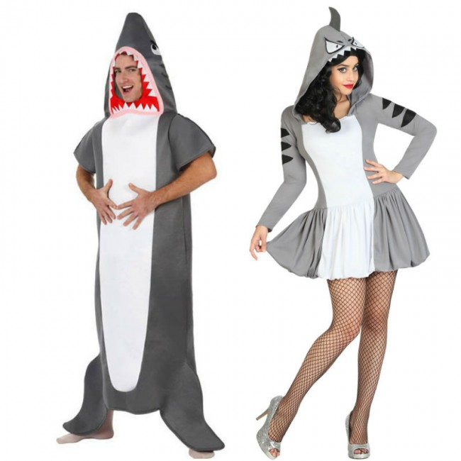 d guisements requins adultes pour couples en ligne. Black Bedroom Furniture Sets. Home Design Ideas