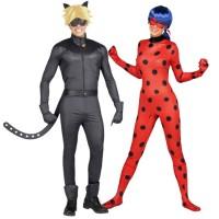 trouver le travail Nouveaux produits sélection mondiale de Déguisements Ladybug et Chat Noir