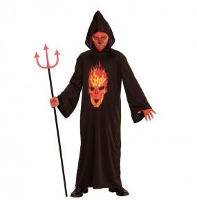 Déguisement Skeleton Devil Enfant