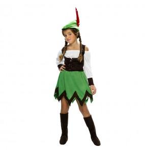 Déguisement Robin Hood fille