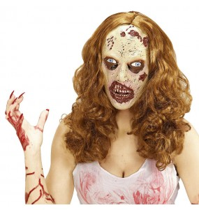 Masque Femme Zombi