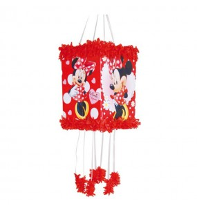 Piñata Viñeta Minnie Lunares