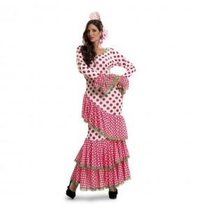 Déguisement Flamenco (Sévillane) Rose femme