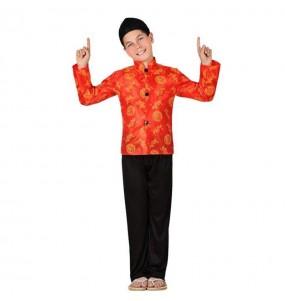 Déguisement Chinois Rouge pour garçon