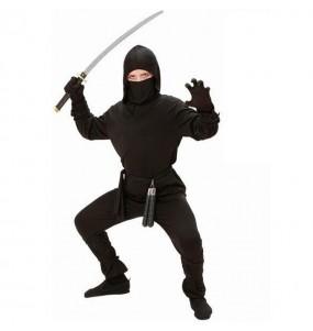 Déguisement Ninja Noir pour garçon