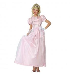Déguisement Princesse Rose pour femme