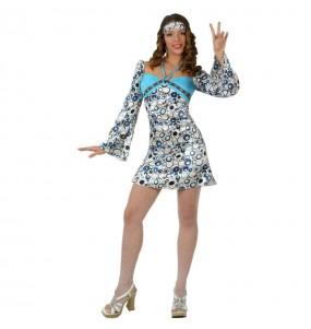 Déguisement Hippie Cool femme