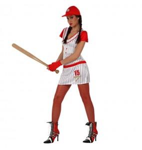 Déguisement Joueur Baseball femme