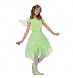 Déguisement Fée Verte pour fille