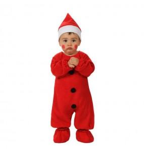 Déguisement Père Noël Rouge bébé