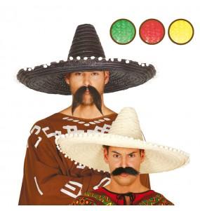 Chapeau Mexicain Unicolore