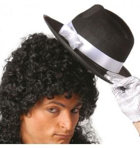 Chapeau Gangster Feutre Noir