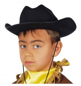 Chapeau Cow Boy Noir pour enfants