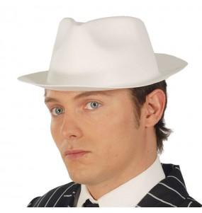 Chapeau Gangster Foam Blanc