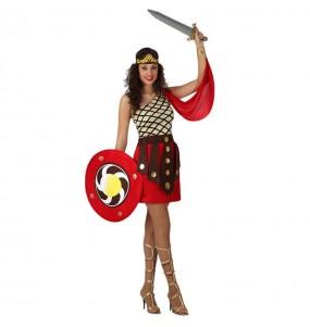 Déguisement Gladiatrice Romaine Sparte