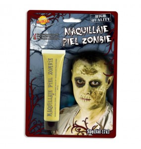 Maquillage Peau Zombie Jaune