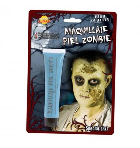 Maquillage Peau Zombie Bleu