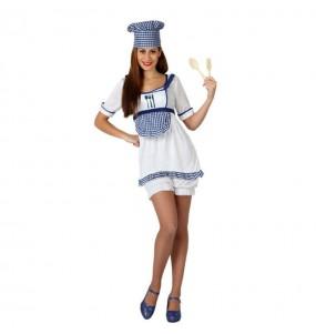 Déguisement Cuisinière pour femme