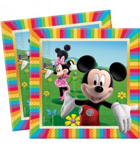 Serviettes Mickey Colours - Disney™