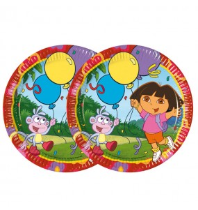 Assiettes Dora l'Exploratrice - Nickelodeon™