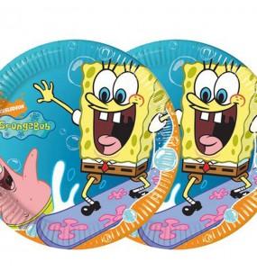 Assiettes Bob l'Éponge - Nickelodeon™