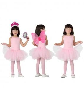Déguisement Danseuse Ballet - Rose fille