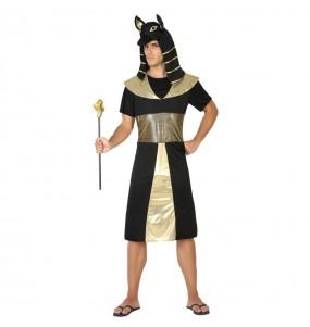 Déguisement Roi Égyptien Anubis