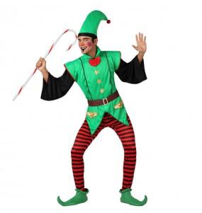 Déguisement Elfe du Père Noël homme