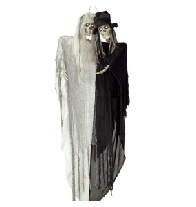Décoration Couple Mariés avec Lumière