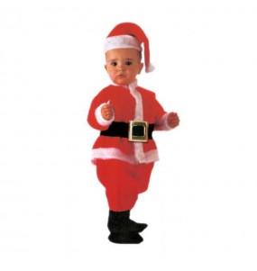 Déguisement Père Noël Deluxe bébé