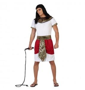 Déguisement Roi Égyptien Rouge