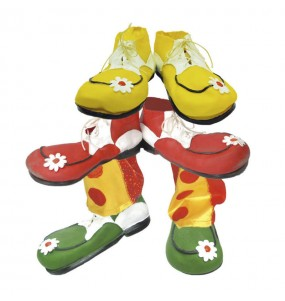 Chaussures Clown Latex