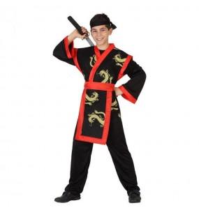 Déguisement Guerrier Samouraï pour garçon